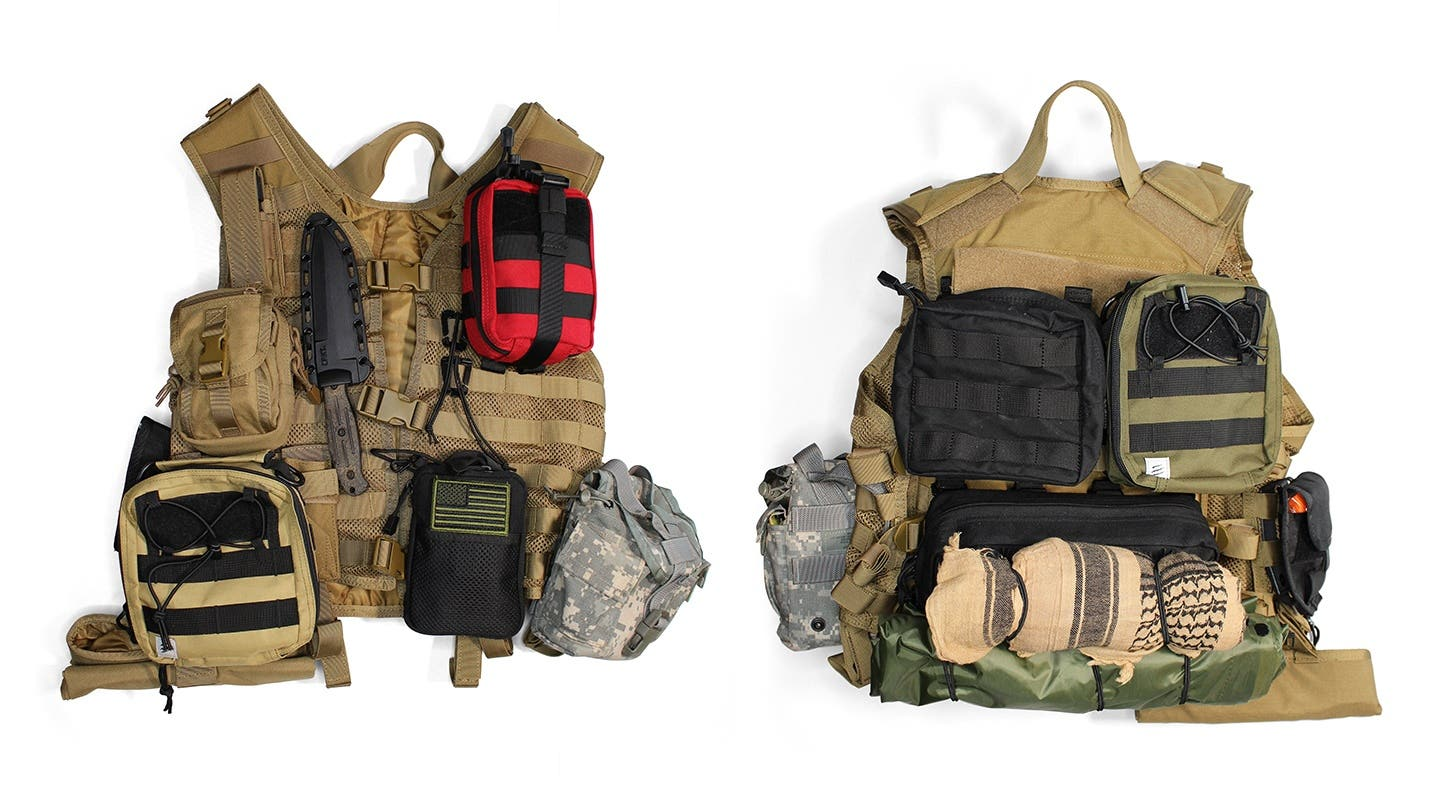 The Bug Out Survival Vest: How to choose and outfit a load-bearing ultra-mobile survival vest.