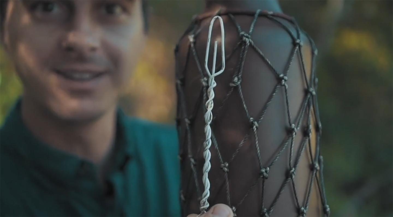 Urban Net Weaving: How to Make a Bottle Sling