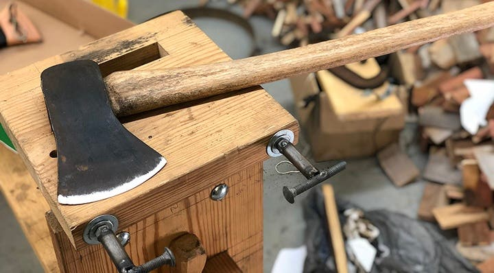 How to Sharpen an Axe that Would Make Abe Lincoln Proud