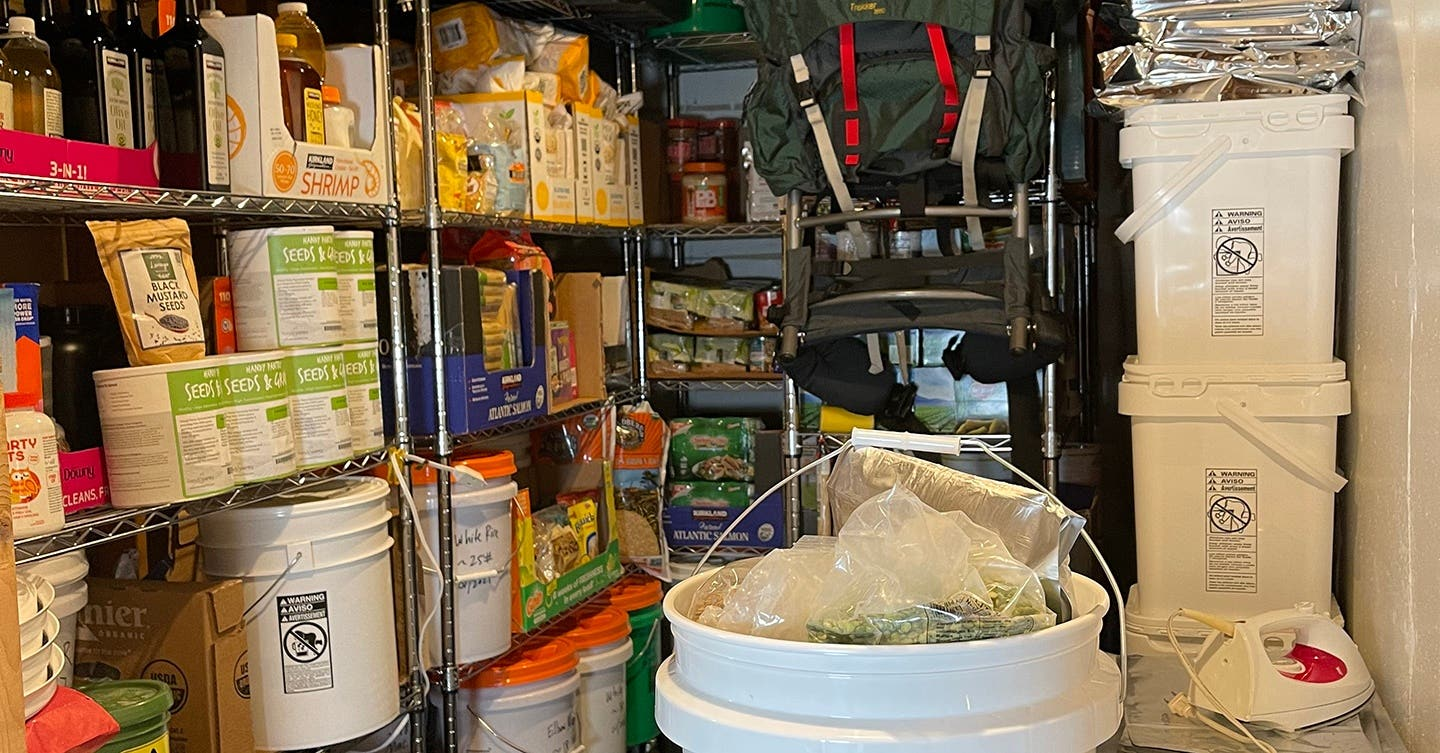 How to Build Your Long Term Food Storage Pantry for BUG IN Survival