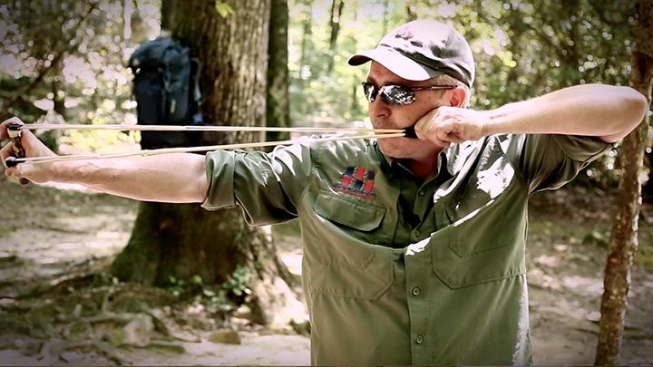 Survival Slingshots: Make a slingshot from found objects