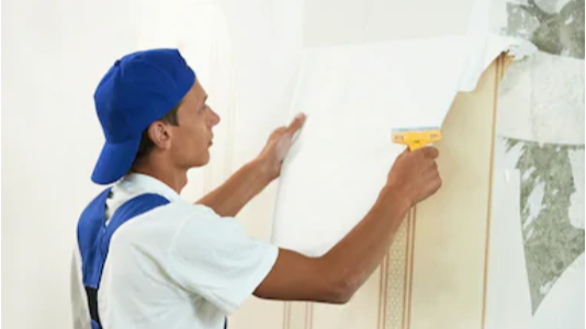 Professional Wallcovering Removal