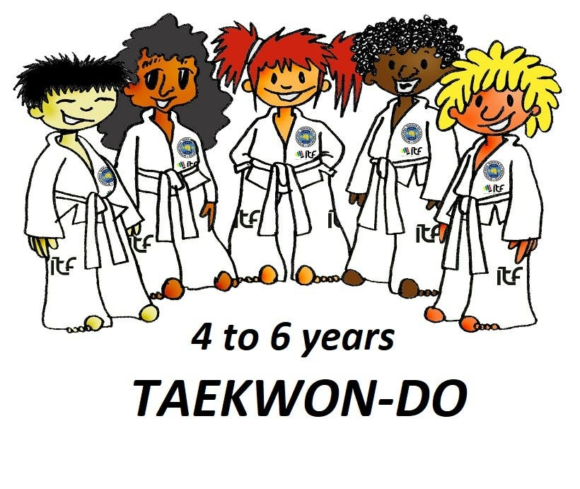 4 to 6 years Taekwon-Do - Complete course and syllabus