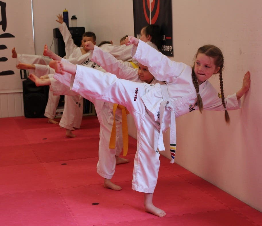 TKD Covid-19 lockdown videos Chon-Ji Practice for the kids and adults