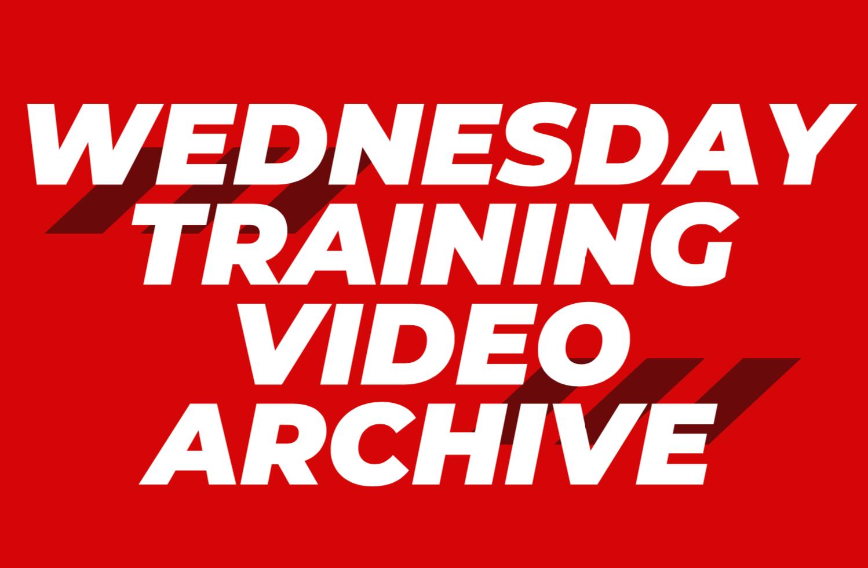 Wednesday Office Training Videos