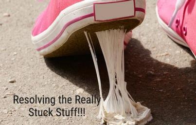 Resolving the Really Stuck Stuff