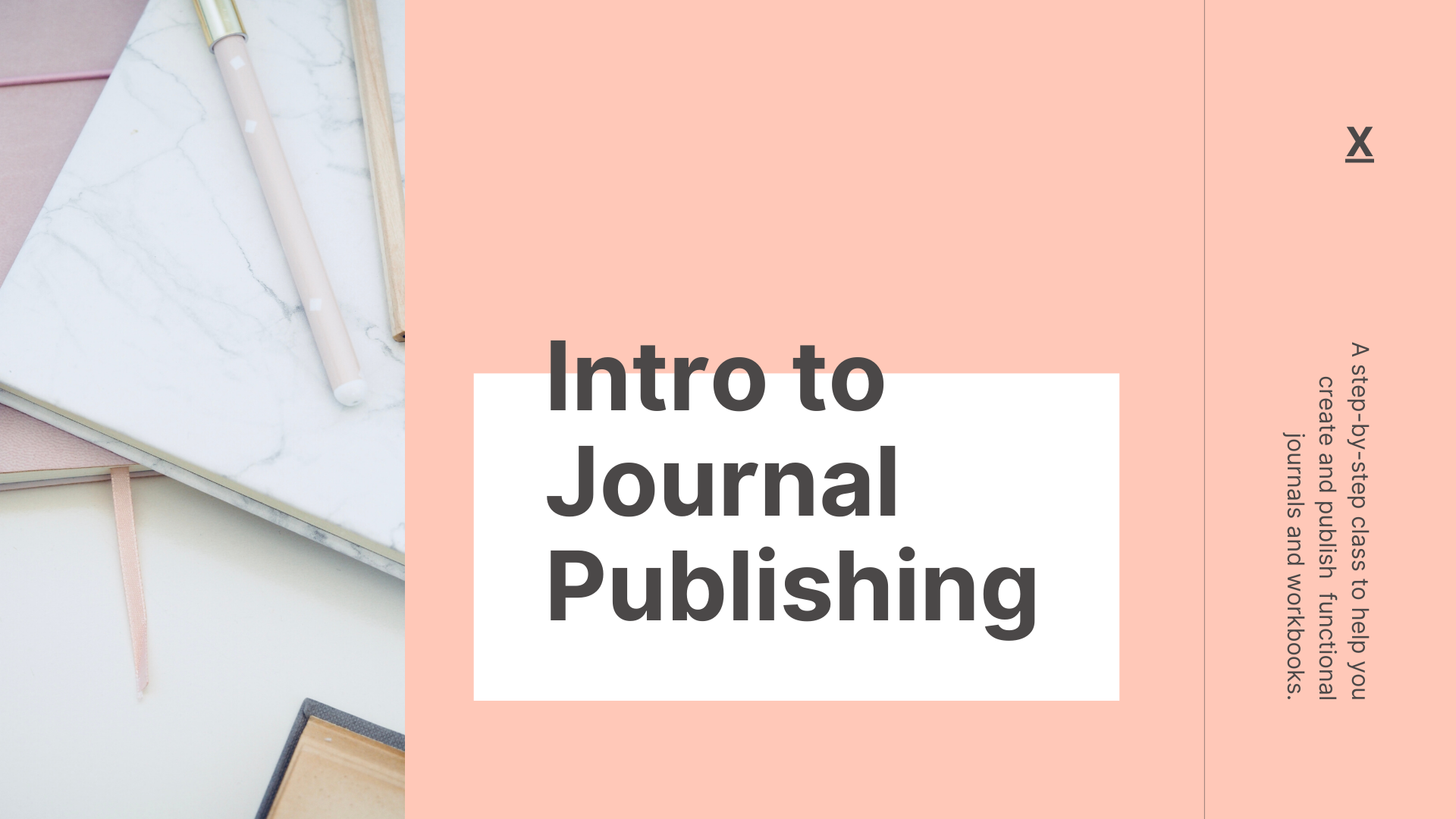 Intro to Journal Publishing