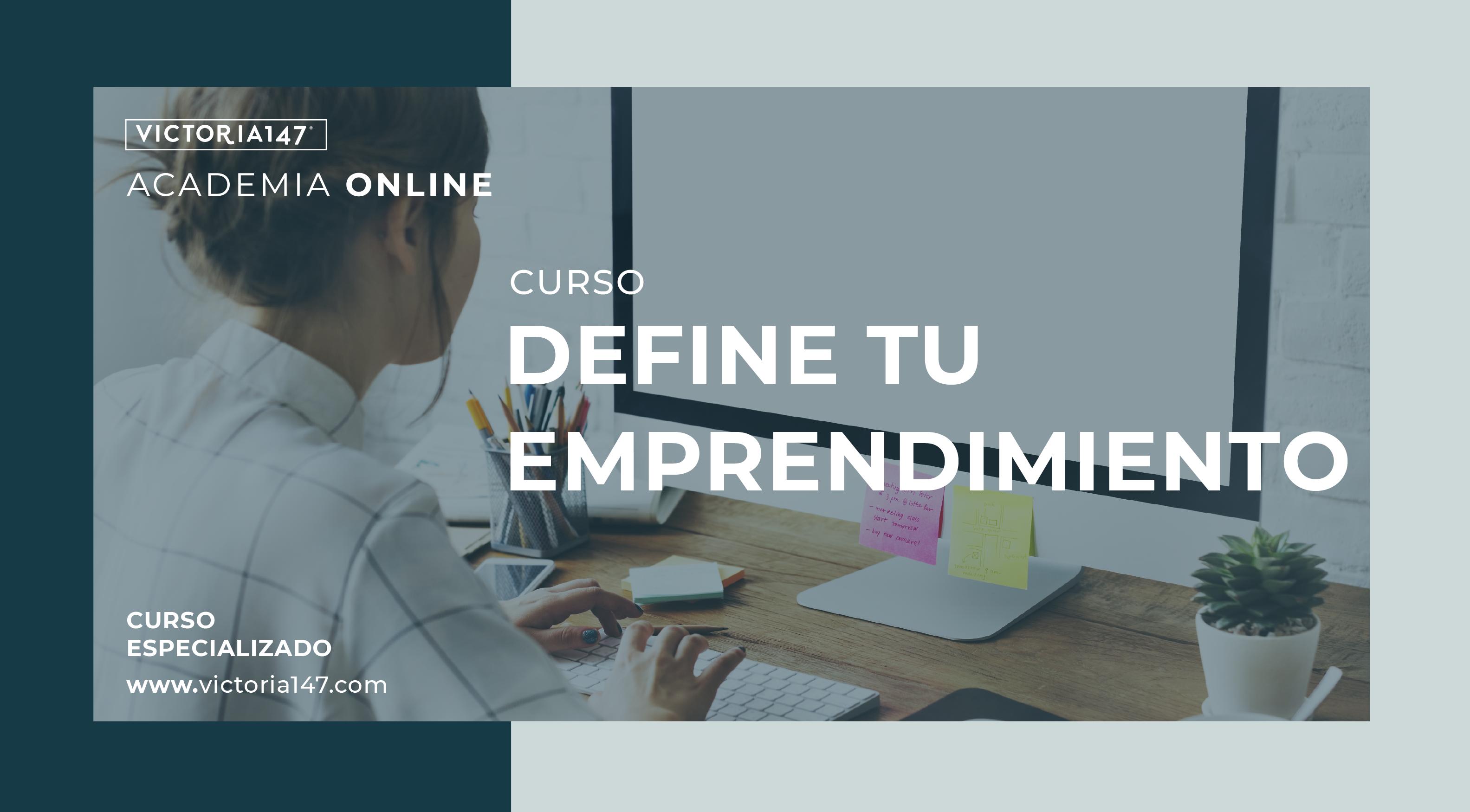 Define tu emprendimiento Online