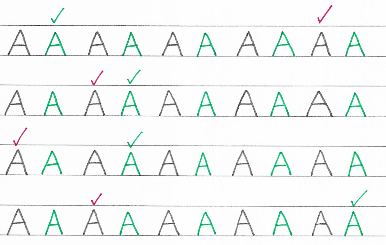 Home & School Handwriting Programme - Capital Letters