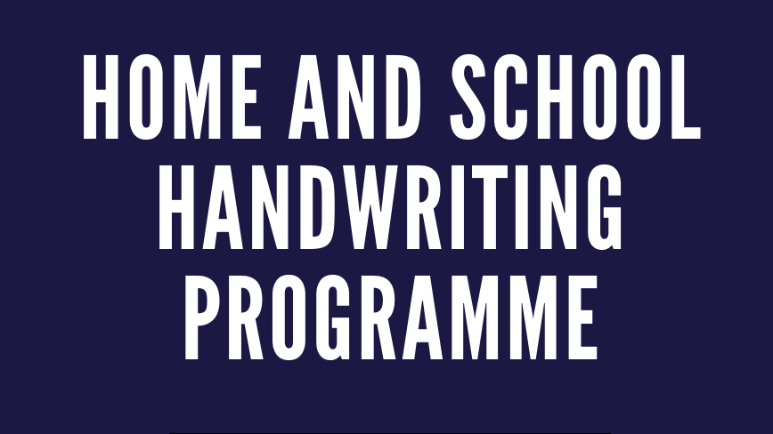 The Home & School Handwriting Programme Guidance