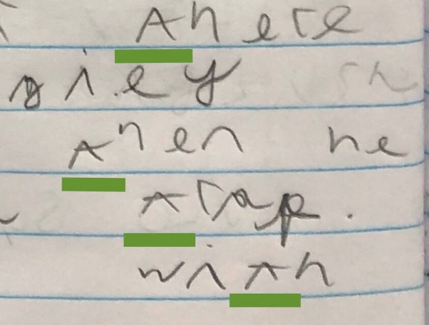 Handwriting:<br>A Guide for Primary Teachers