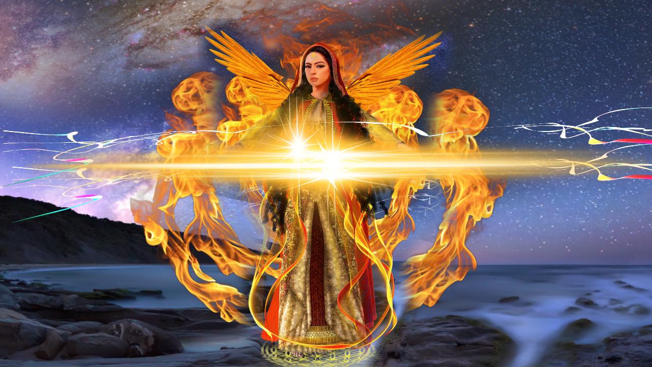 NEW - ADVANCED Golden Angelic Ray of Healing Teacher Training Diploma
