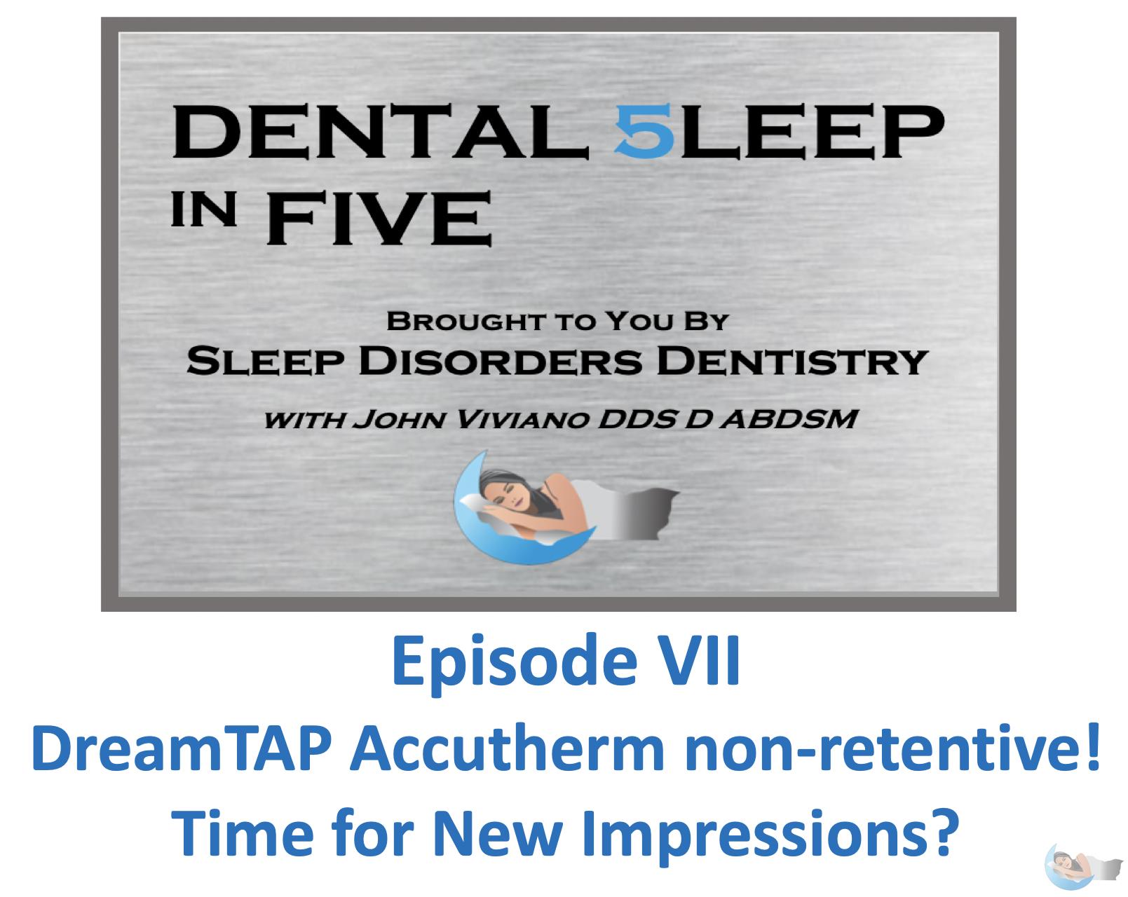 Dental 5leep in FIVE