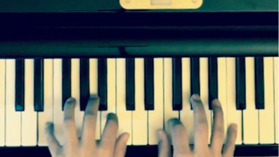 MIRROR SYMMETRICAL & CONTRAPUNTAL JAZZ PIANO IMPROVISATION