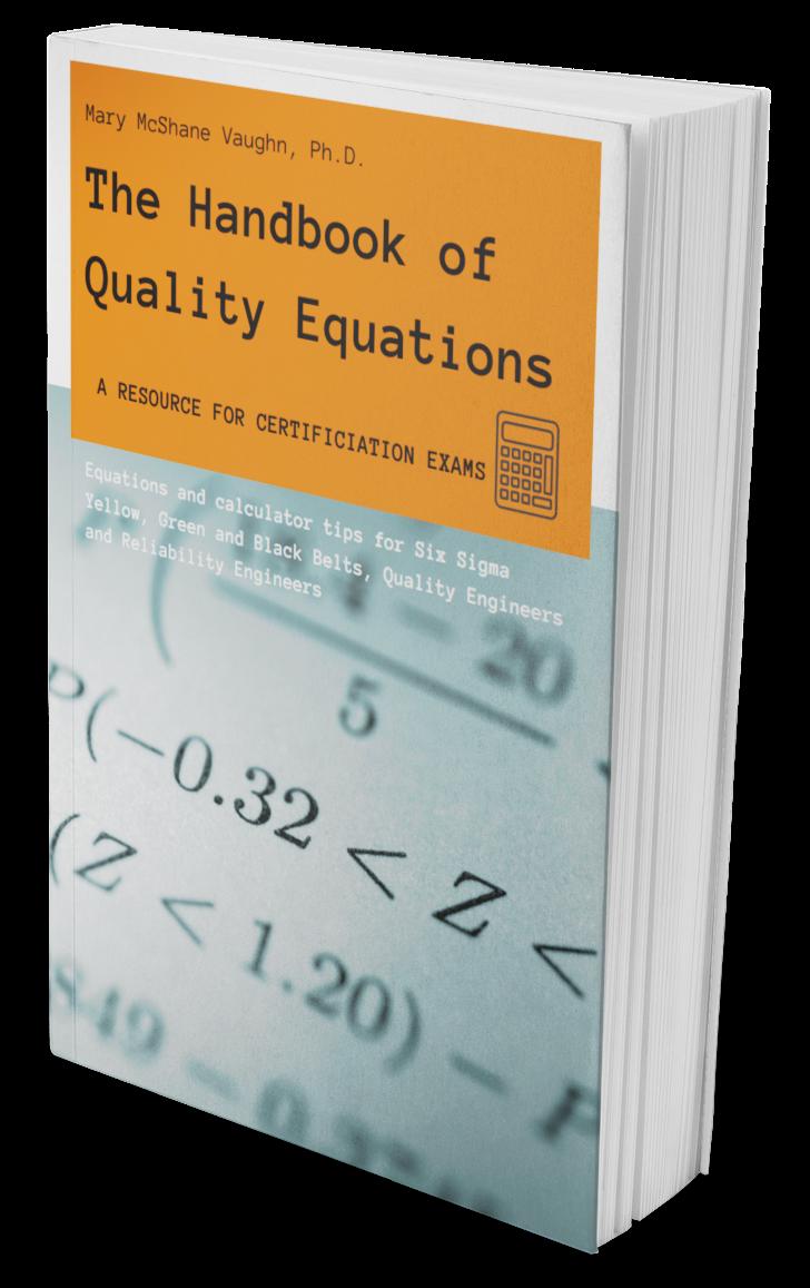 The Handbook of Quality Equations