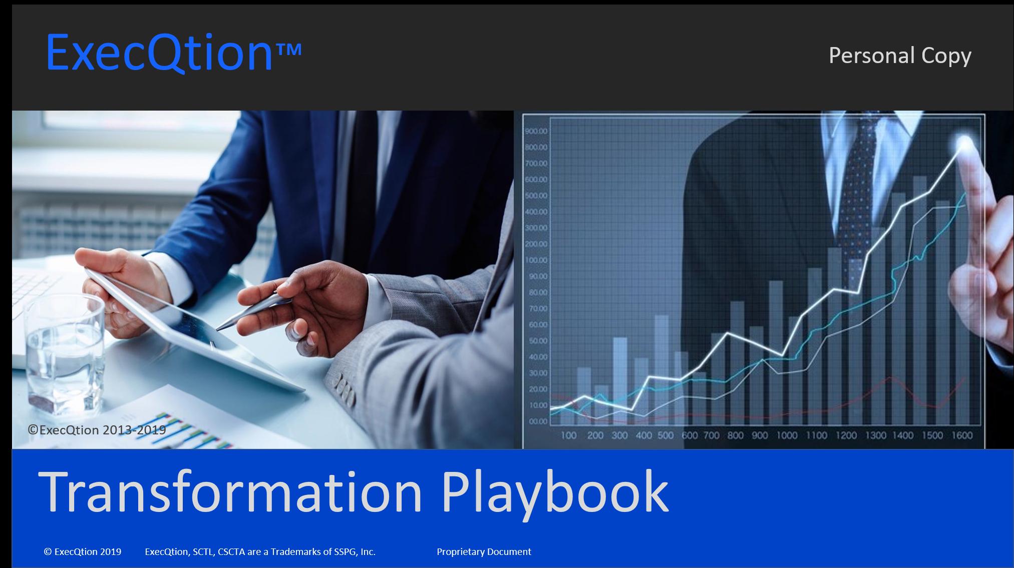 Option - Executive Transformation Playbook Software $3500