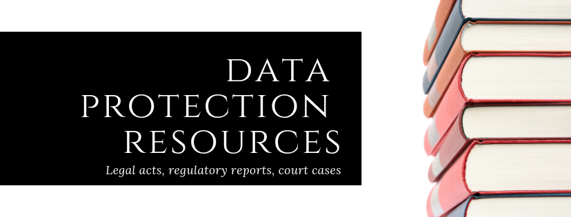 Data Protection Resources