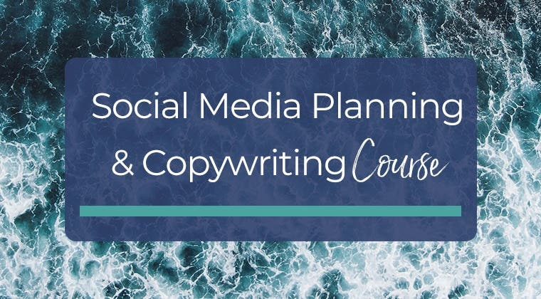 Social Media Planning & Copywriting Course