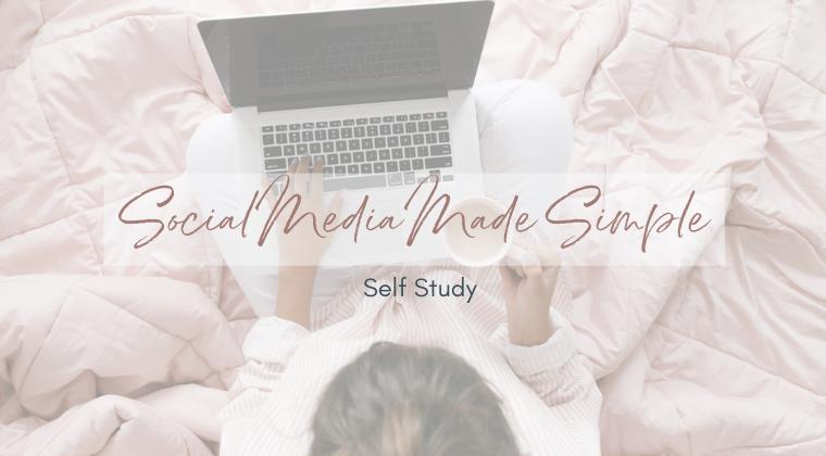 Social Made Simple Self-Study Program