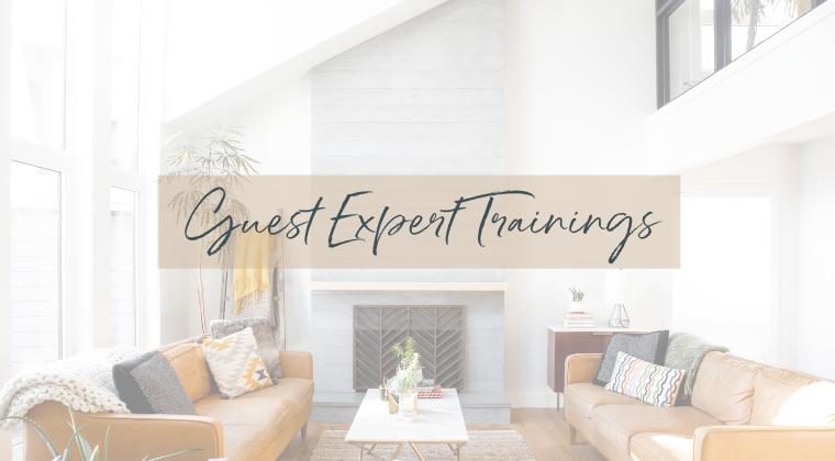 Guest Expert Trainings
