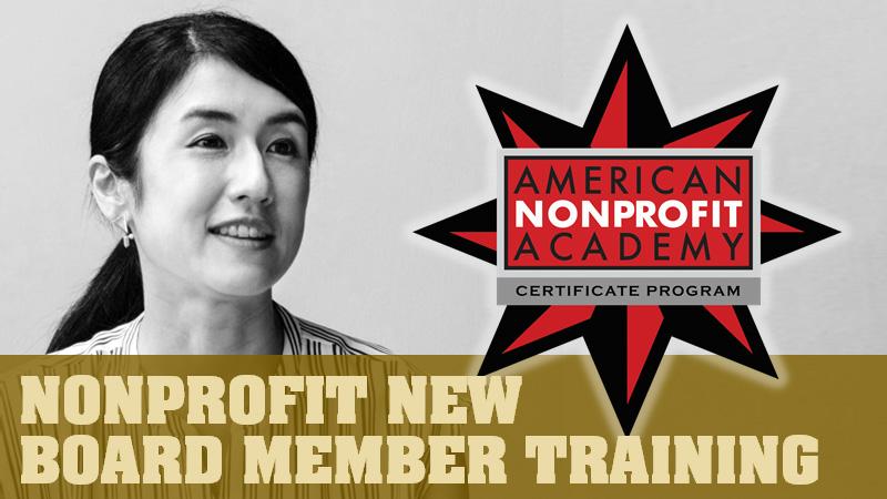 Nonprofit New Board Member Training Certificate Program