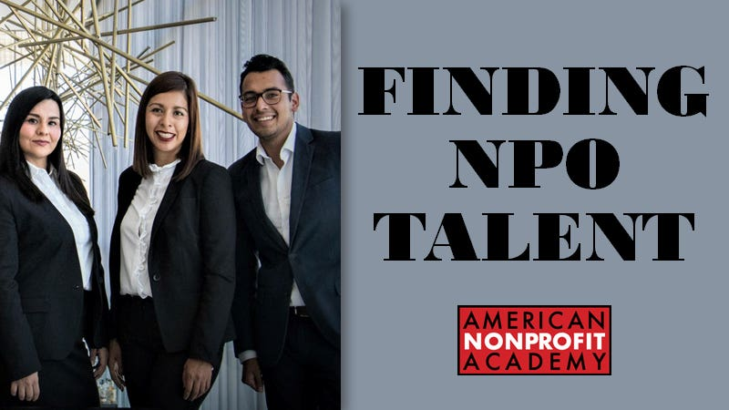 Finding NPO Talent