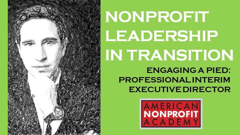 Nonprofit Leadership in Transition PIED