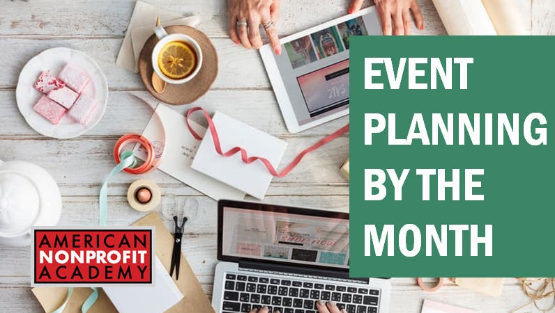 Event Planning by the Month