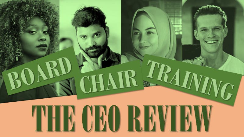 Board Chair Training - The CEO Performance Review