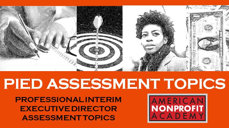 PIED Assessment Topics