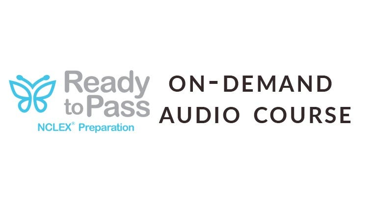 Ready to Pass NCLEX Review - On Demand Audio