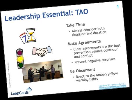 LeapCard LC01 - Leadership Essentials