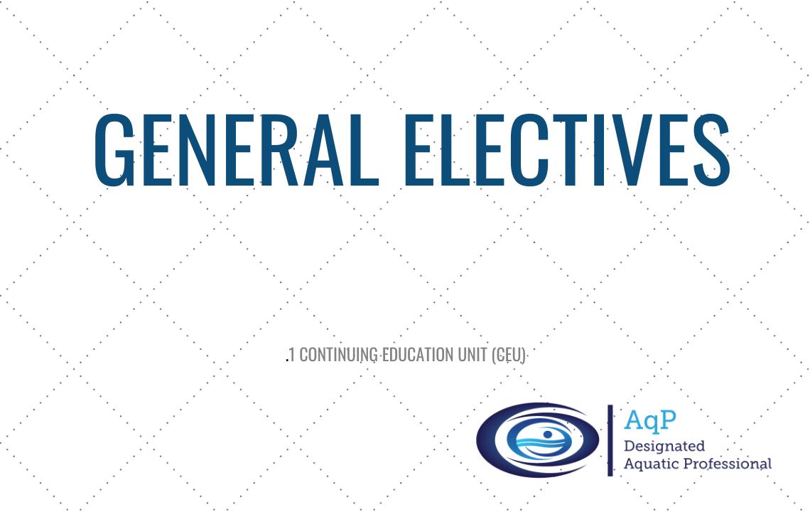 AqP General Electives