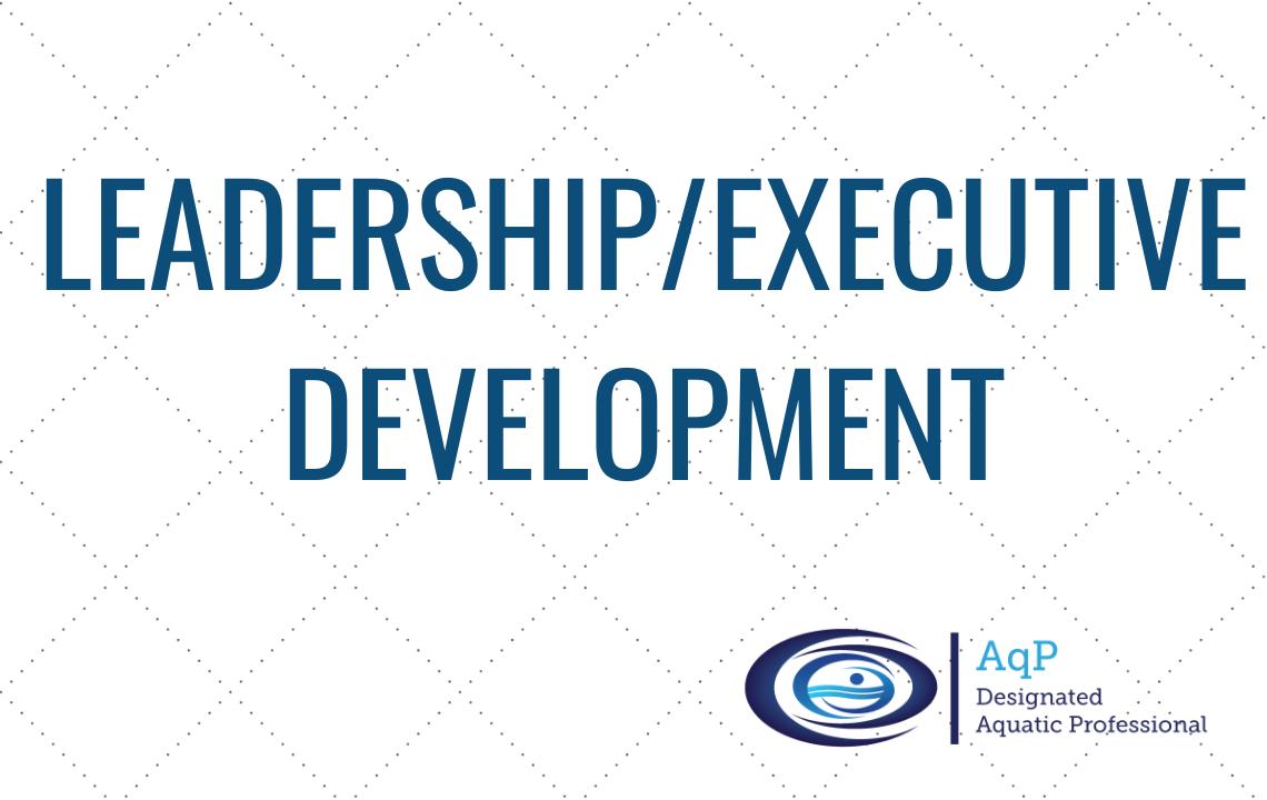 Leadership/Executive Development
