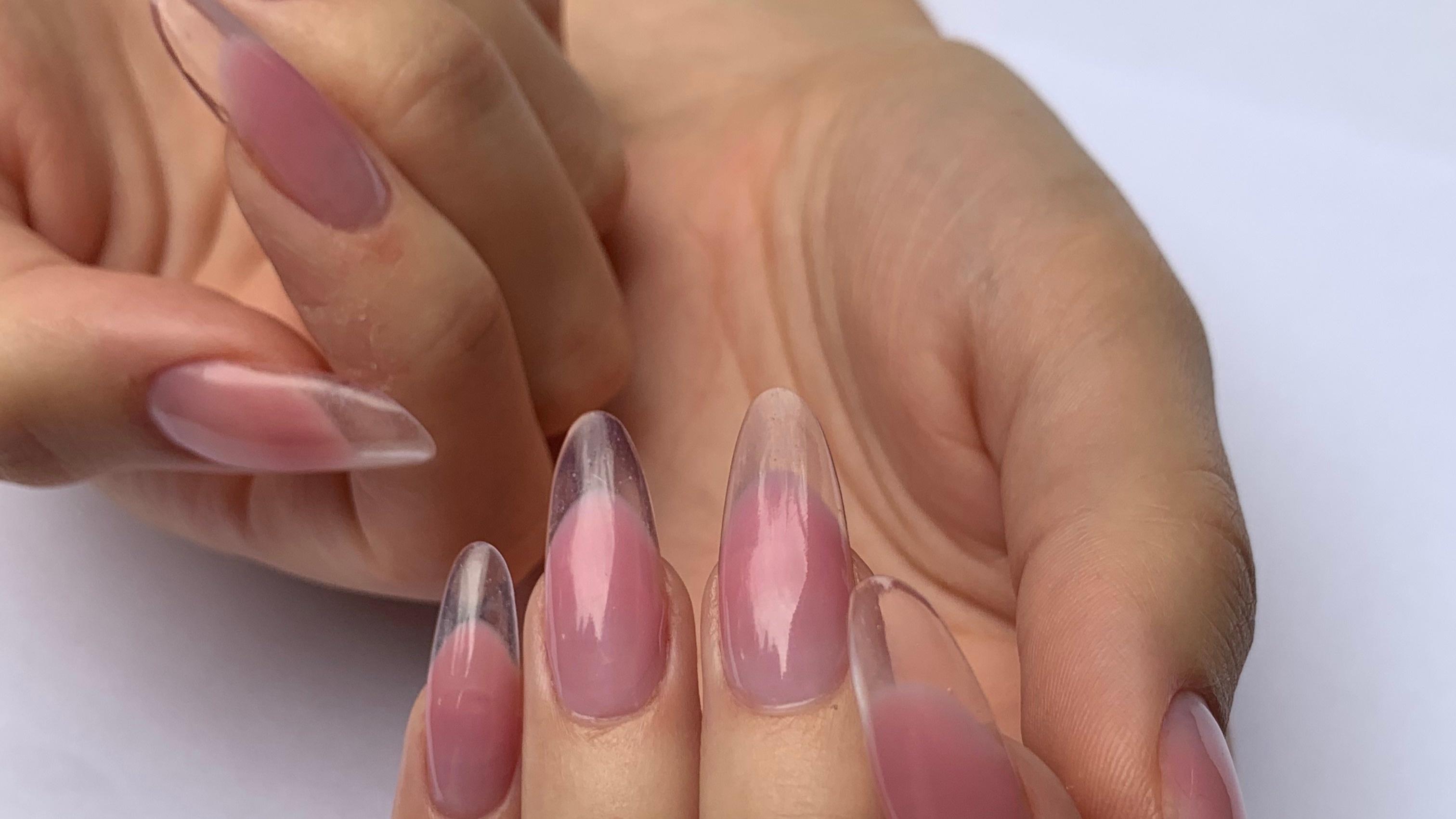 Budowa paznokci w kształcie Migdał od A do Z. Technologia żelowa