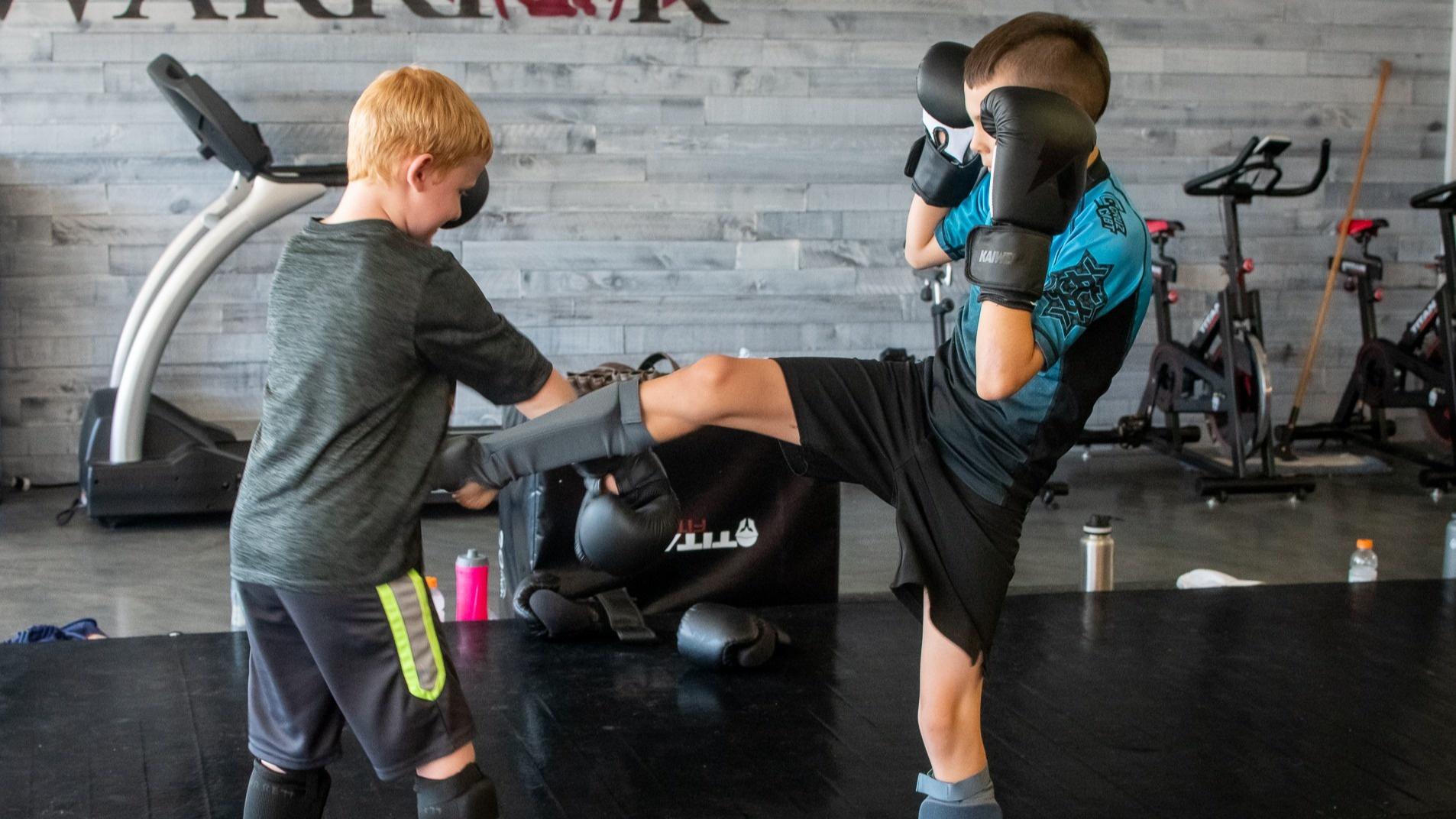 Kids Muay Thai Drills