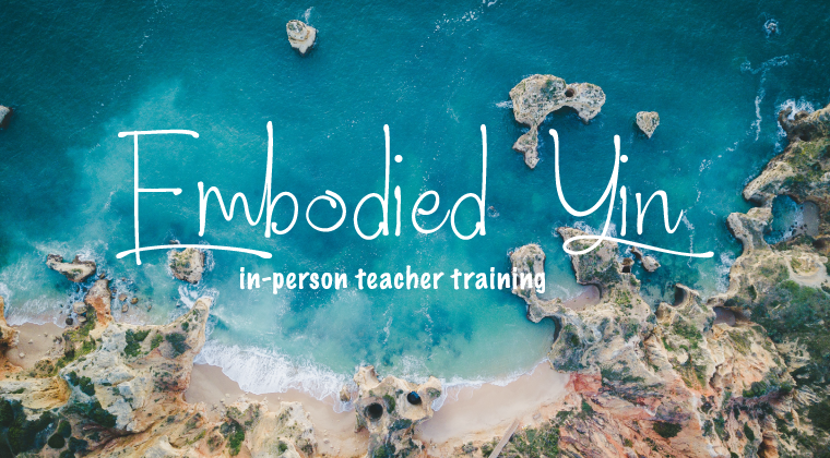 EMBODIED YIN™ 50h 〰️ In-Person Teacher Training  〰️ 23.-30.01.2022