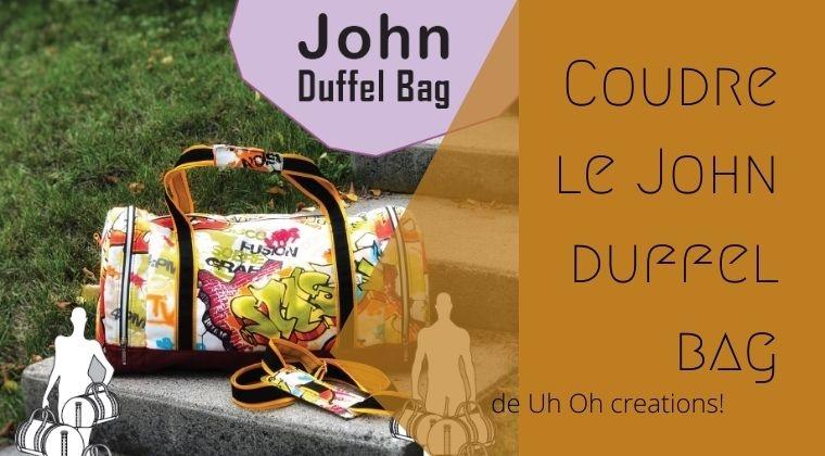 Le john duffel bag de UhOh creations