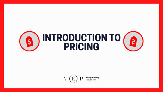 Introduction to Pricing