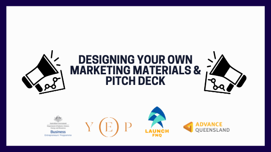 Designing Your Own Marketing Materials & Pitch Deck with Brody Oxenham