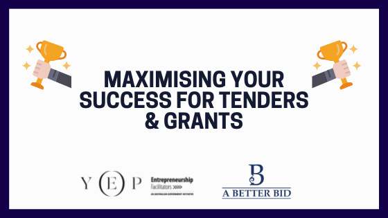 Maximise your Success with Tenders & Grants with Toni Raso