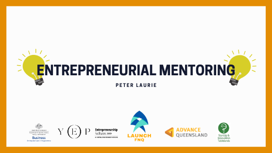 Entrepreneurship Mentoring with Peter Laurie