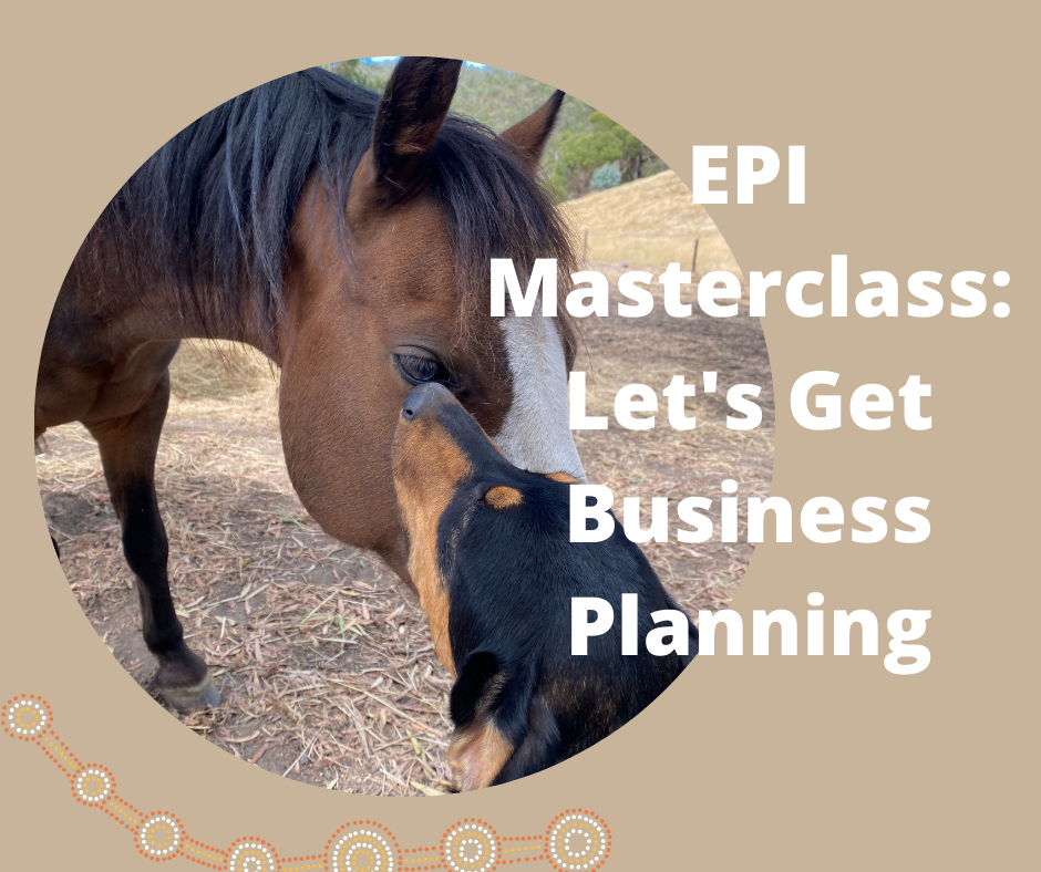 Equine Psychotherapy Institute - Masterclass: Let's Get Business Planning