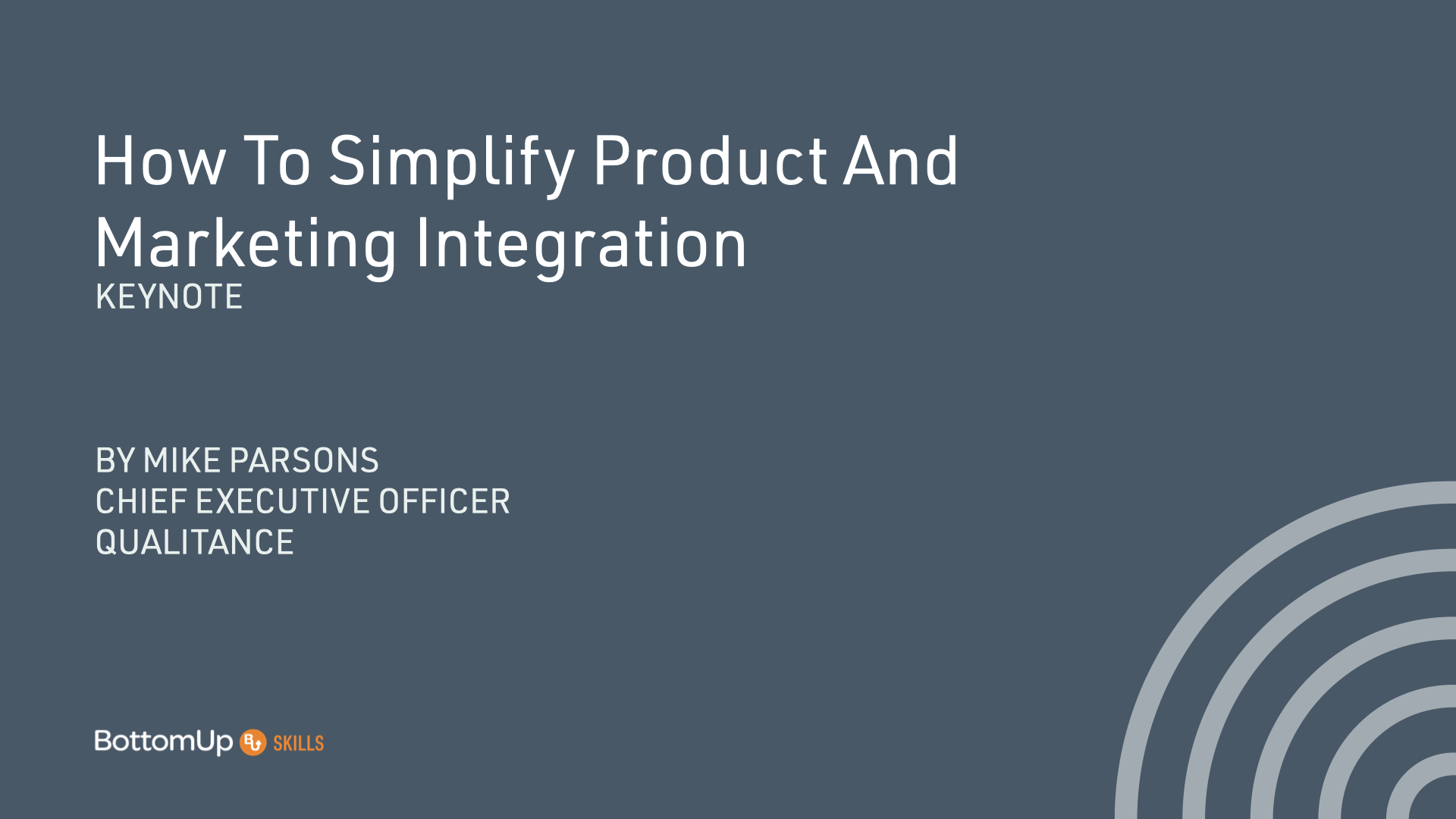 Product and marketing integration