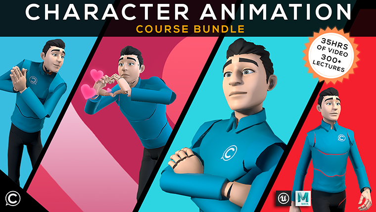 3D Animation Course Bundle: Comprehensive Guide To Animation/Rigging