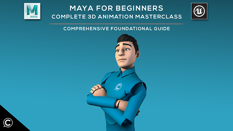 Maya for Beginners: Complete 3D Animation Masterclass Pack
