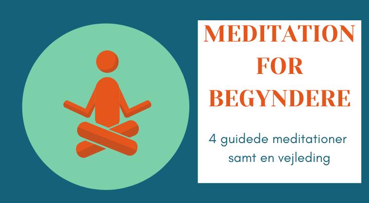 Meditationspakke 1: For begyndere. Inkl. guide og træning i at sidde stille med og uden lyd.