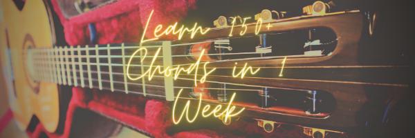 Learn 150+ Chords in 1 Week