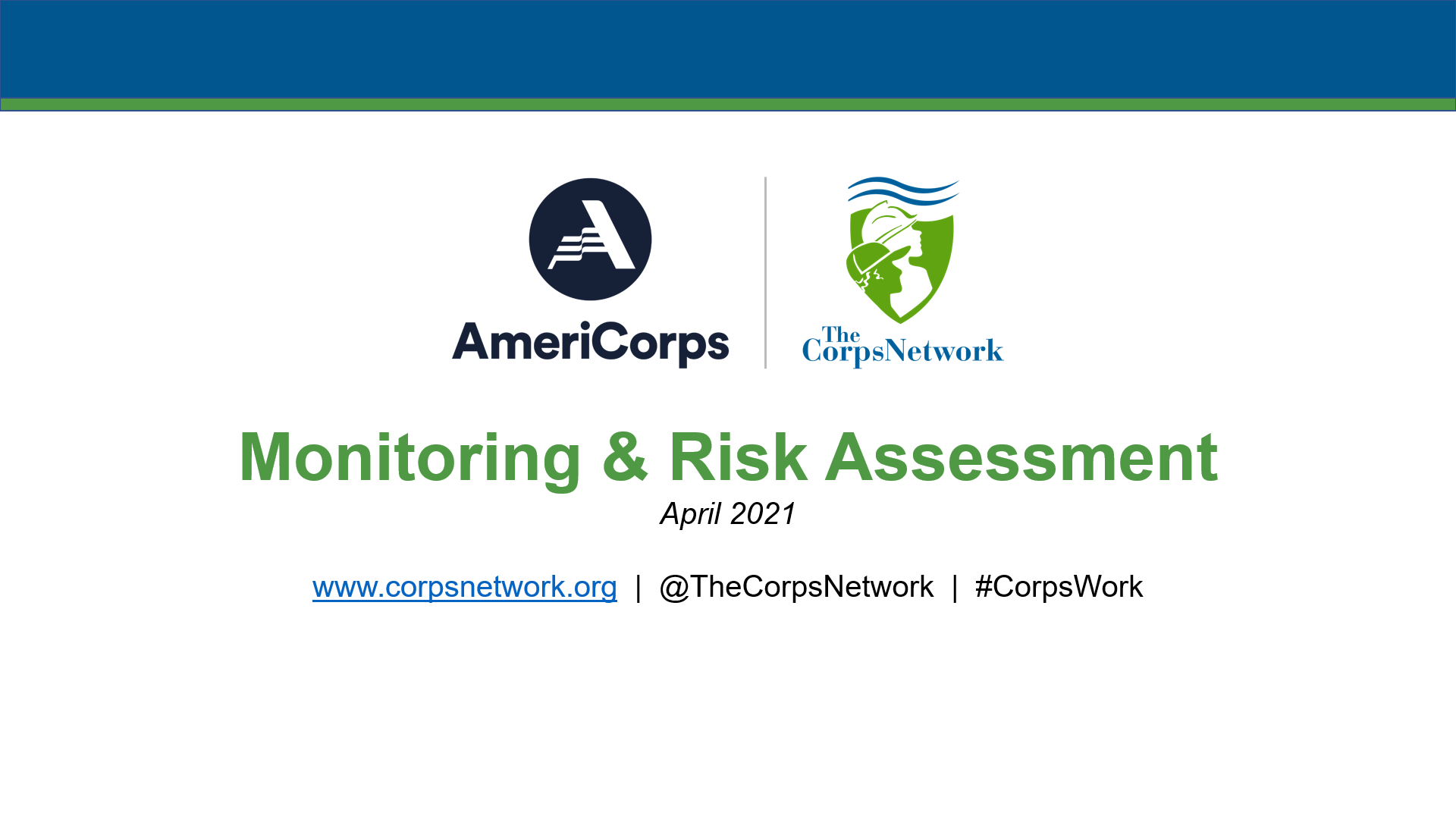 Monitoring & Risk Assessment