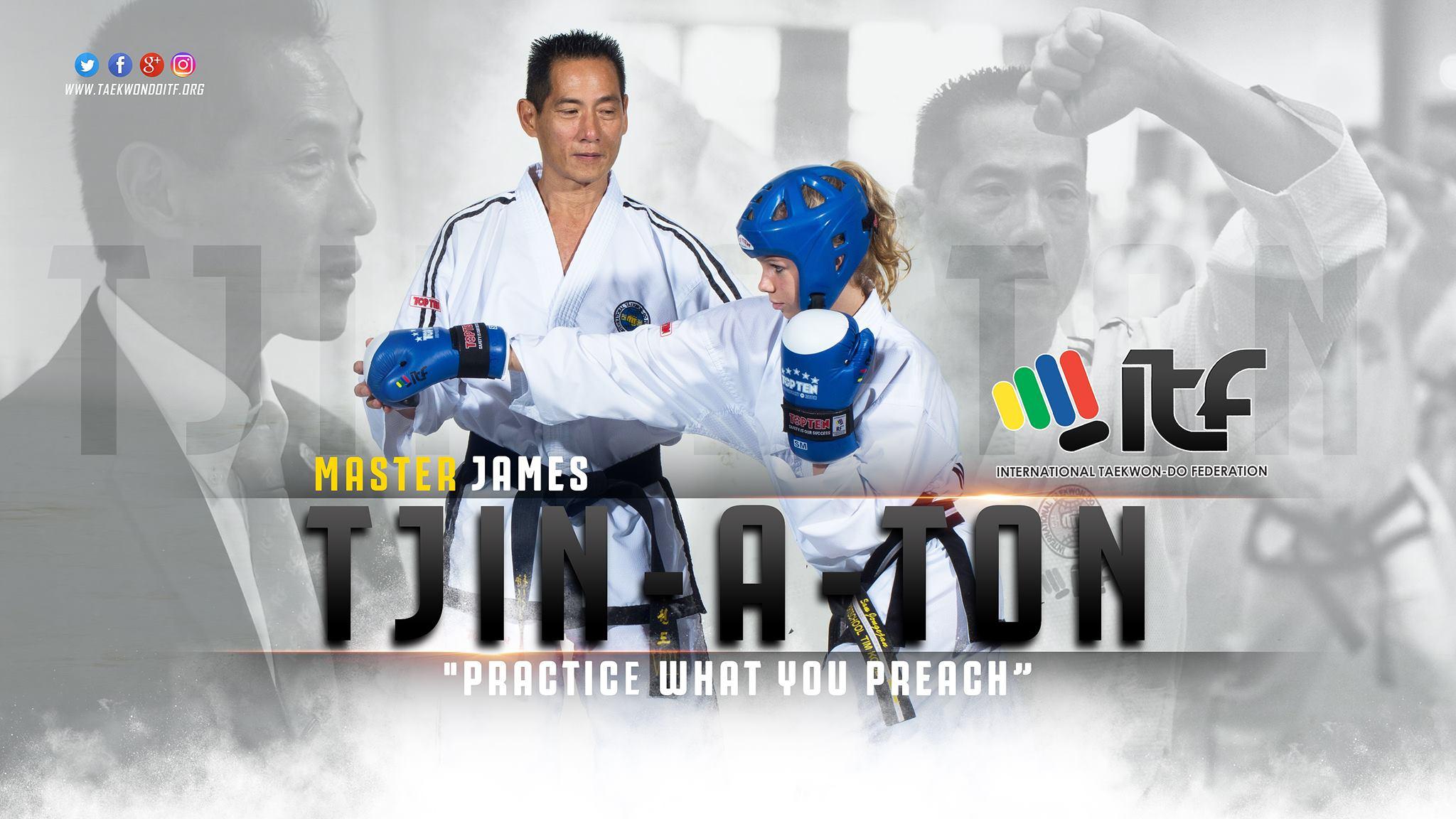 GM James Tjin A Ton - 9th Degree ITF